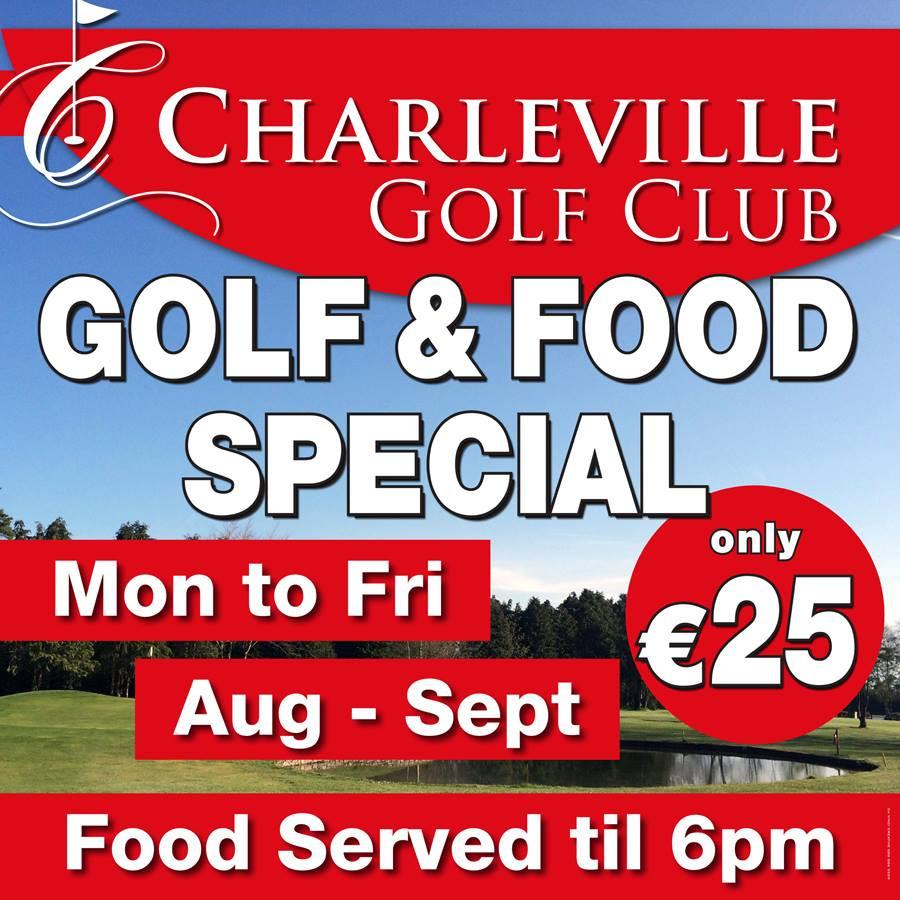 Golf & Food offer